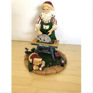 Craftsman Santa Clause Tool Bench Tools Christmas